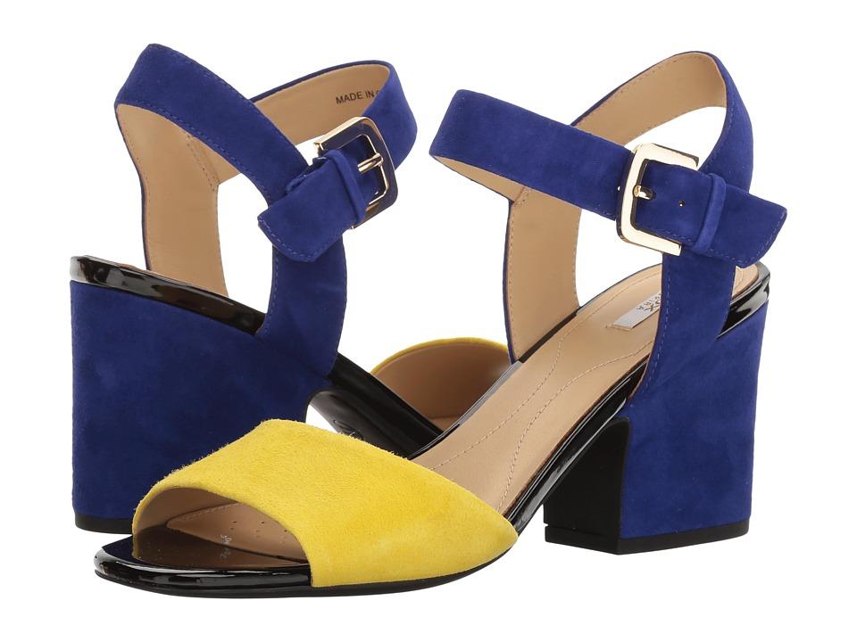 Geox W MARILYSE 1 (Yellow/Dark Violet) Women