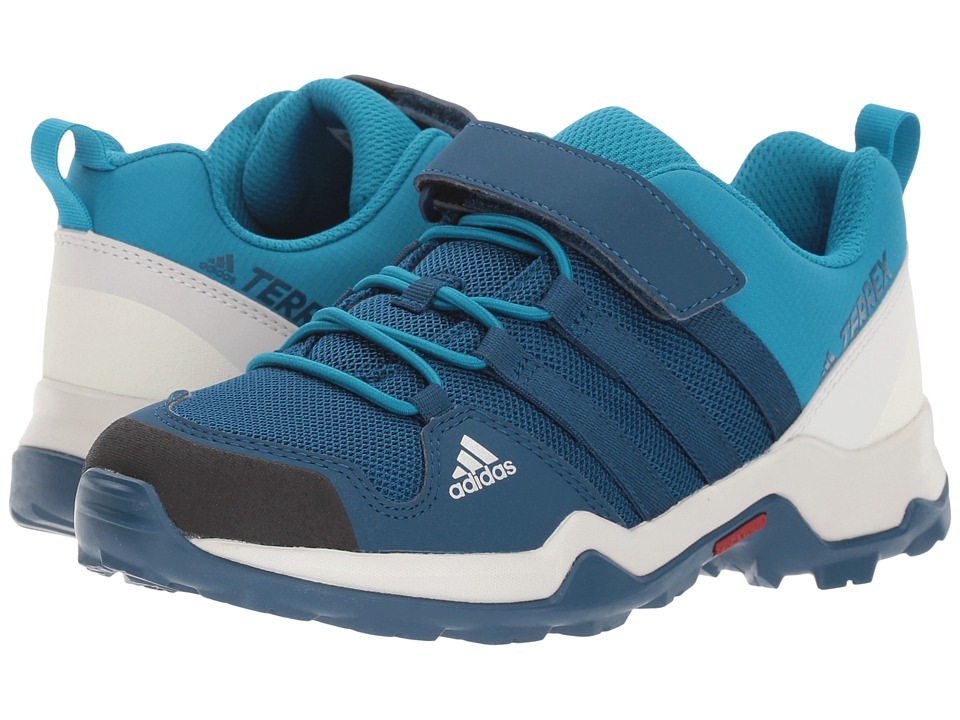 adidas Outdoor Kids Terrex AX2R CF (Little Kid/Big Kid) (Blue Night/Blue Night/Mystery Petrol) Boys Shoes