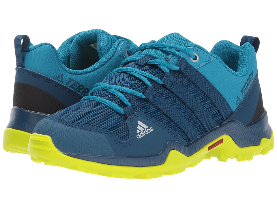 adidas Outdoor Kids Terrex AX2R (Little Kid/Big Kid) (Blue Night/Blue Night/Semi Solar Yellow) Boys Shoes