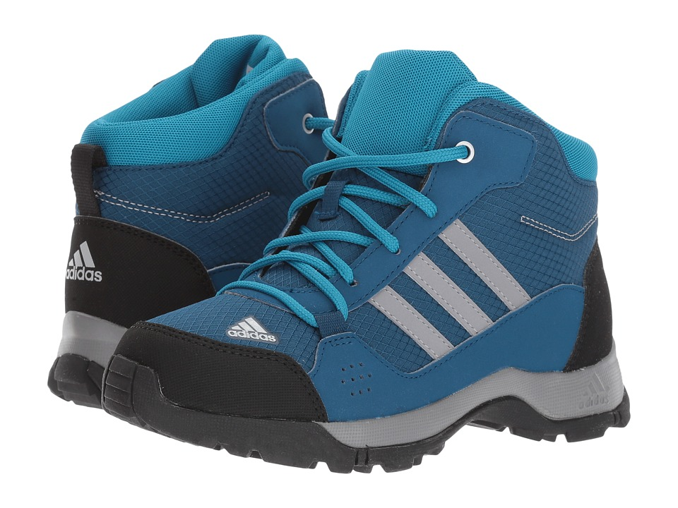 adidas Outdoor Kids Hyperhiker (Little Kid/Big Kid) (Blue Night/Grey Three/Mystery Petrol) Boys Shoes