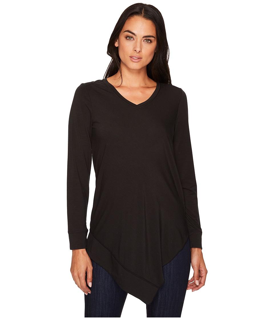 ExOfficio - Wanderlux V-Neck Tunic (Black) Womens Clothing