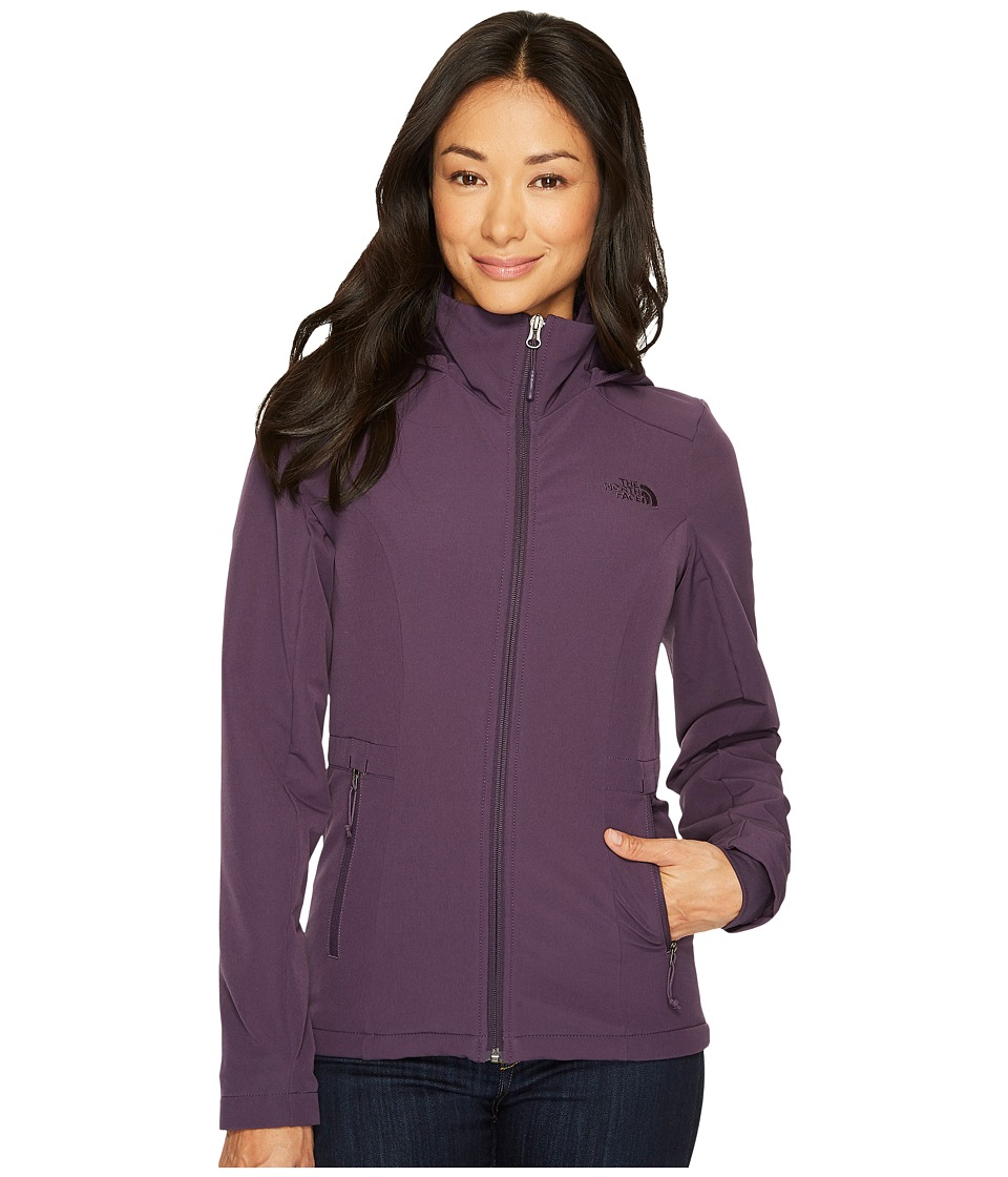 The North Face - Shelbe Rashcel Hoodie (Dark Eggplant Purple) Womens Coat