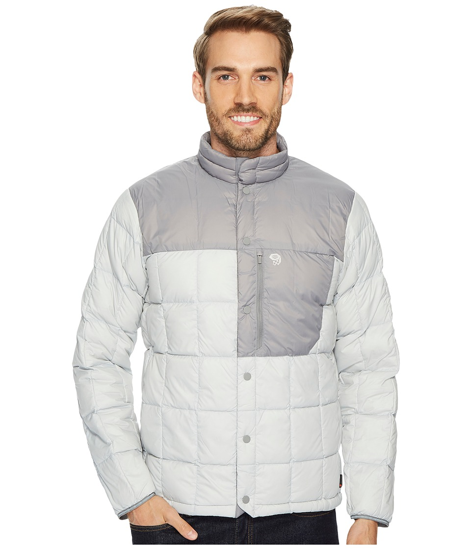 Mountain Hardwear PackDown Jacket (Grey Ice) Men