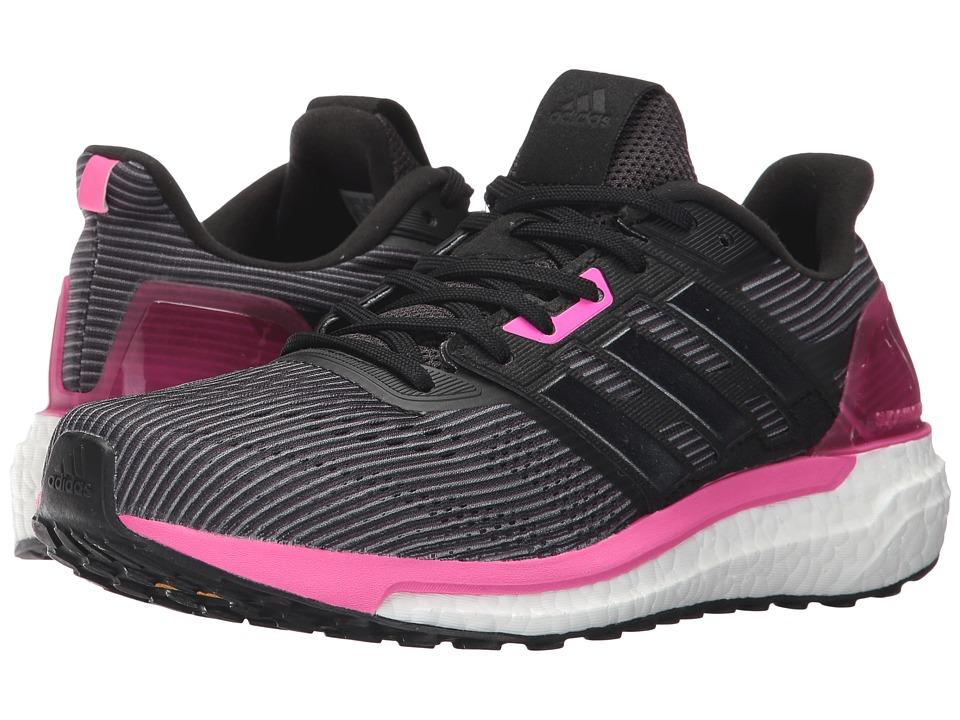 adidas Running Supernova (Utility Black/Core Black/Shock Pink) Women
