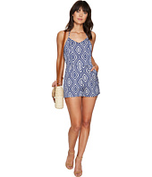 Jack by BB Dakota - Tidus Jacquard Halter Top Romper