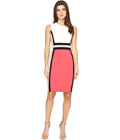 Calvin Klein - Sleeveless Color Block Sheath CD7M1V5K