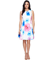 Calvin Klein - Floral Fit & Flare Dress CD7M5V3Q