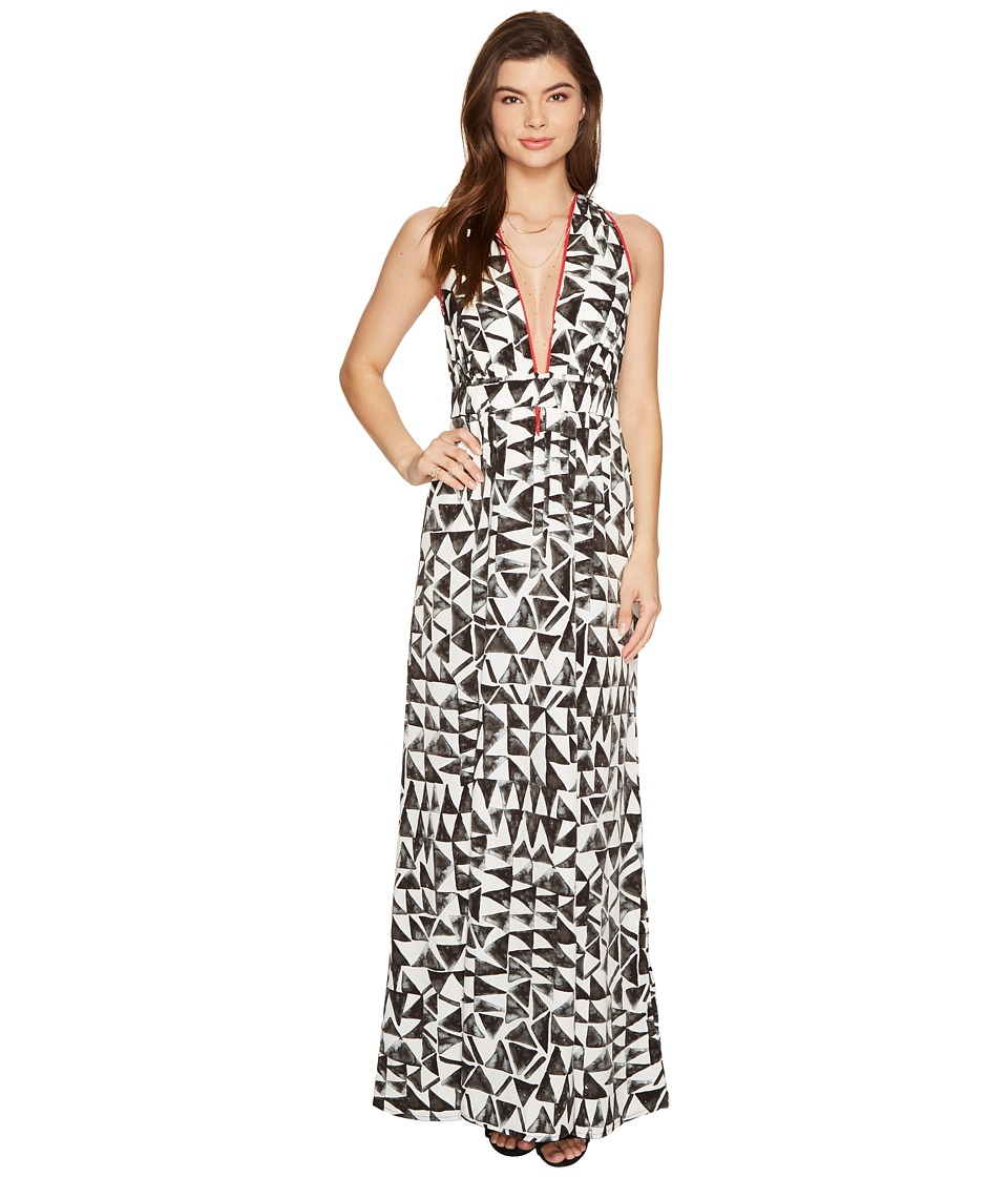 Jack by BB Dakota - Beah The Villas Printed Poly Habatai Maxi Dress