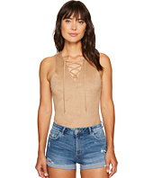 Jack by BB Dakota - Luise Soft Faux Suede Bodysuit