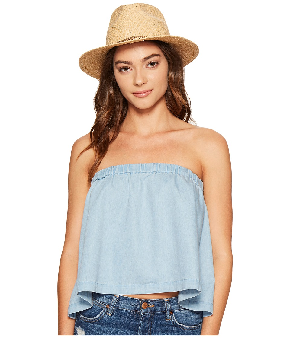 Jack by BB Dakota - Chet Chambray Swing Top with Removable Straps