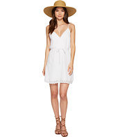 Jack by BB Dakota - Melina Cotton Gauze Dress with Wide Scallop Lace Trim