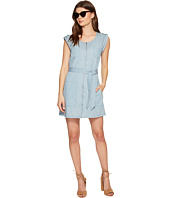 Jack by BB Dakota - Stefania Washed Out Chambray Zip Front Dress