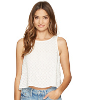 Jack by BB Dakota - Lizabeth Cotton Eyelet Button Back Shell Top