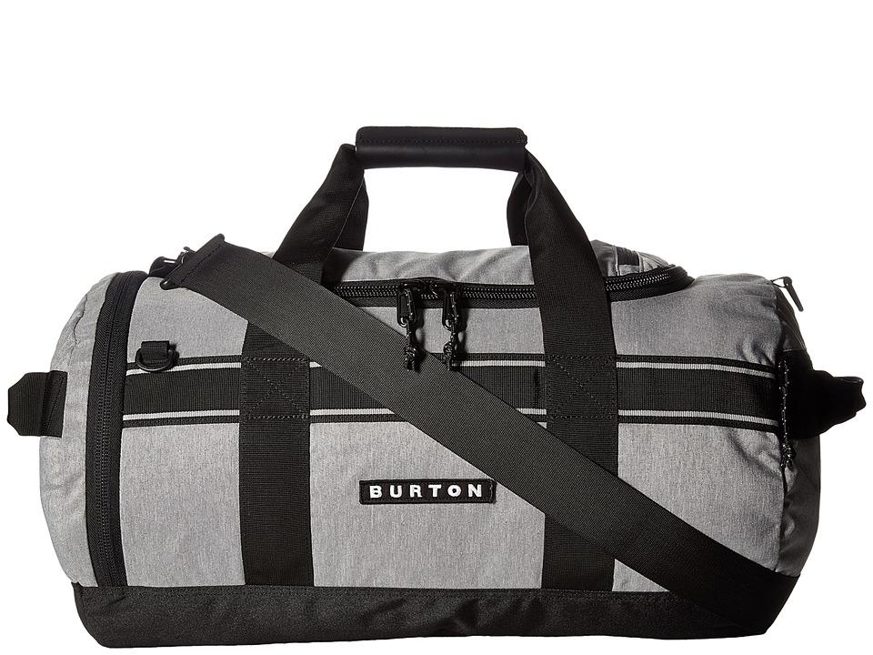 Burton Backhill Duffel Small 40L (Grey Heather) Duffel Bags