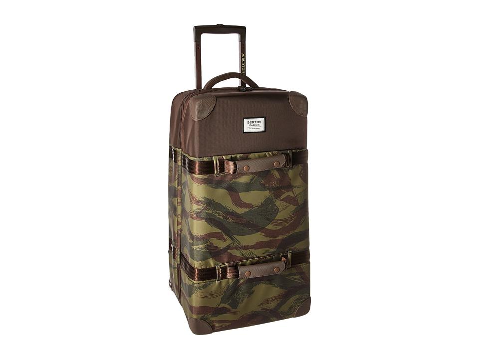 Burton Wheelie Double Deck (Brushstroke Camo) Luggage