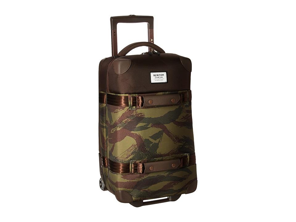 Burton - Wheelie Flight Deck Travel Luggage (Brushstroke Camo) Luggage