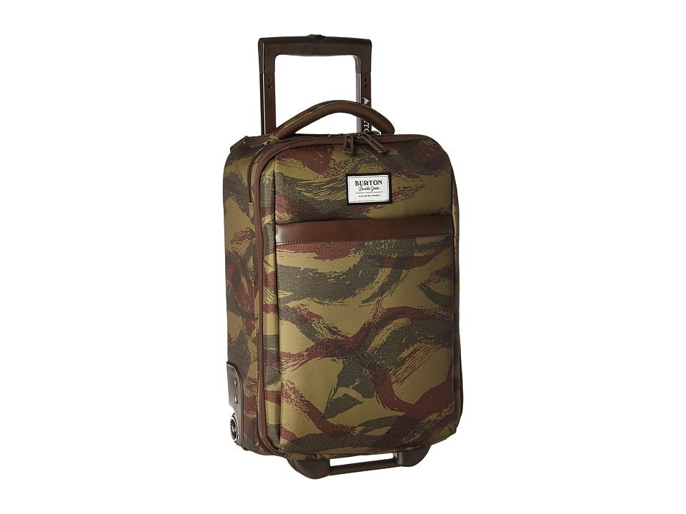 Burton - Wheelie Flyer Travel Luggage (Brushstroke Camo) Luggage