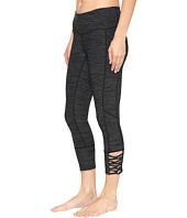 Cinch - Capri Leggings w/ Lace-Up Hem
