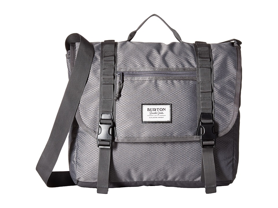 Burton - Flint Messenger (Faded Diamond Ripstop) Messenger Bags