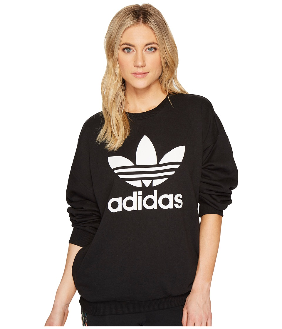 adidas Originals Trefoil Sweater (Black 1) Women