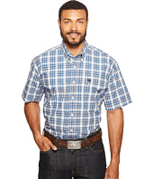 Cinch - Short Sleeve Plain Weave Plaid Double