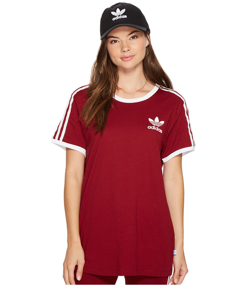 adidas Originals adidas Originals 3 Stripes Tee (Black) Women's T Shirt from Zappos | ShapeShop