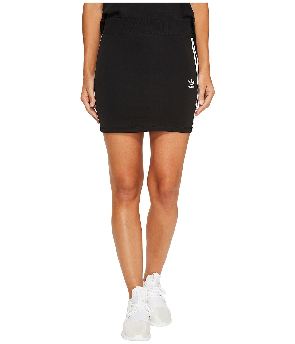 adidas Originals 3-Stripes Skirt (Black) Women