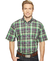 Cinch - Short Sleeve Plain Weave Plaid