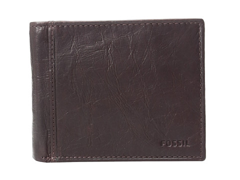 Fossil Ingram RFID Large Coin Pocket Bifold - Brown