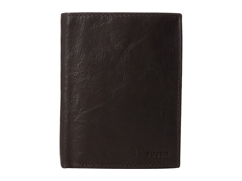 Fossil RFID Ingram International Combination Wallet - Brown