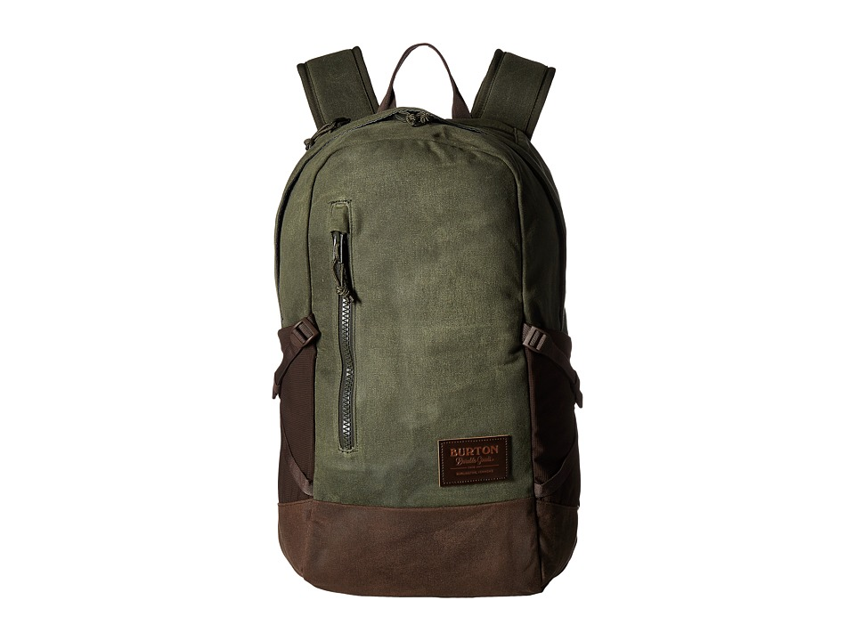 Burton Prospect Backpack (Forest Night Waxed Canvas) Backpack Bags