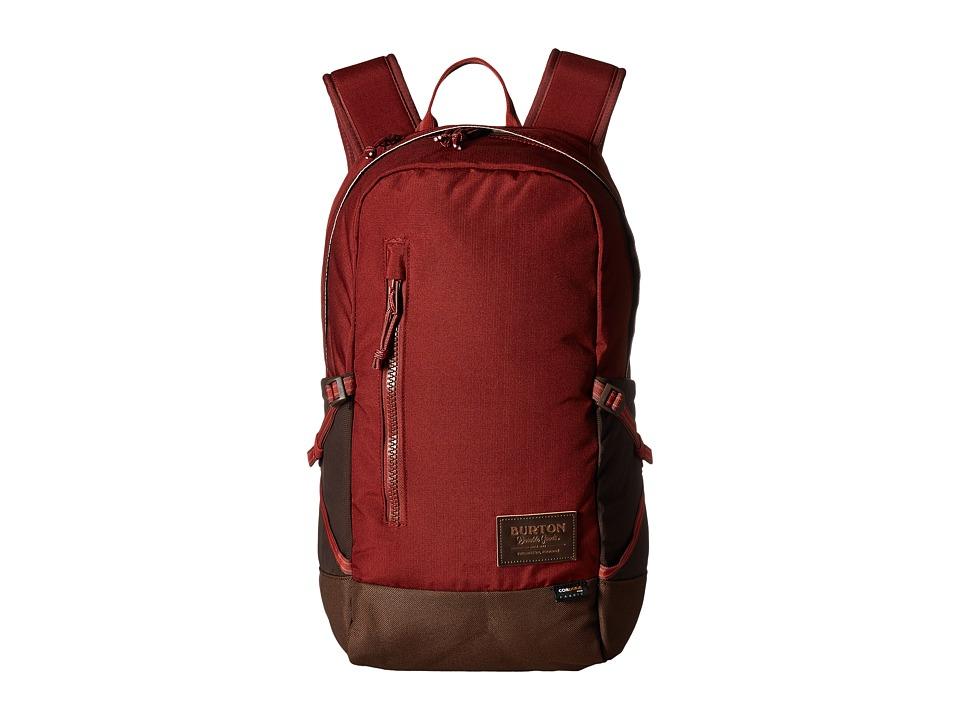 Burton Prospect Backpack (Fired Brick Ripstop Cordura) Backpack Bags