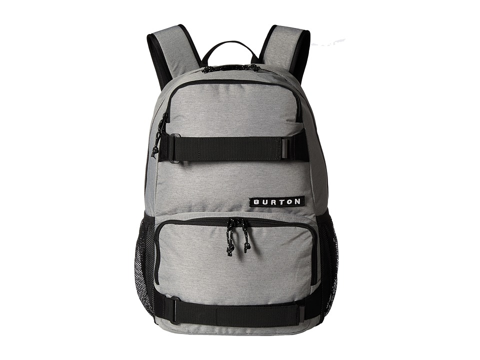 Burton - Treble Yell Pack (Grey Heather) Backpack Bags