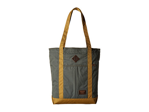 Burton North/South Zip Crate Tote - Forest Night Ripstop