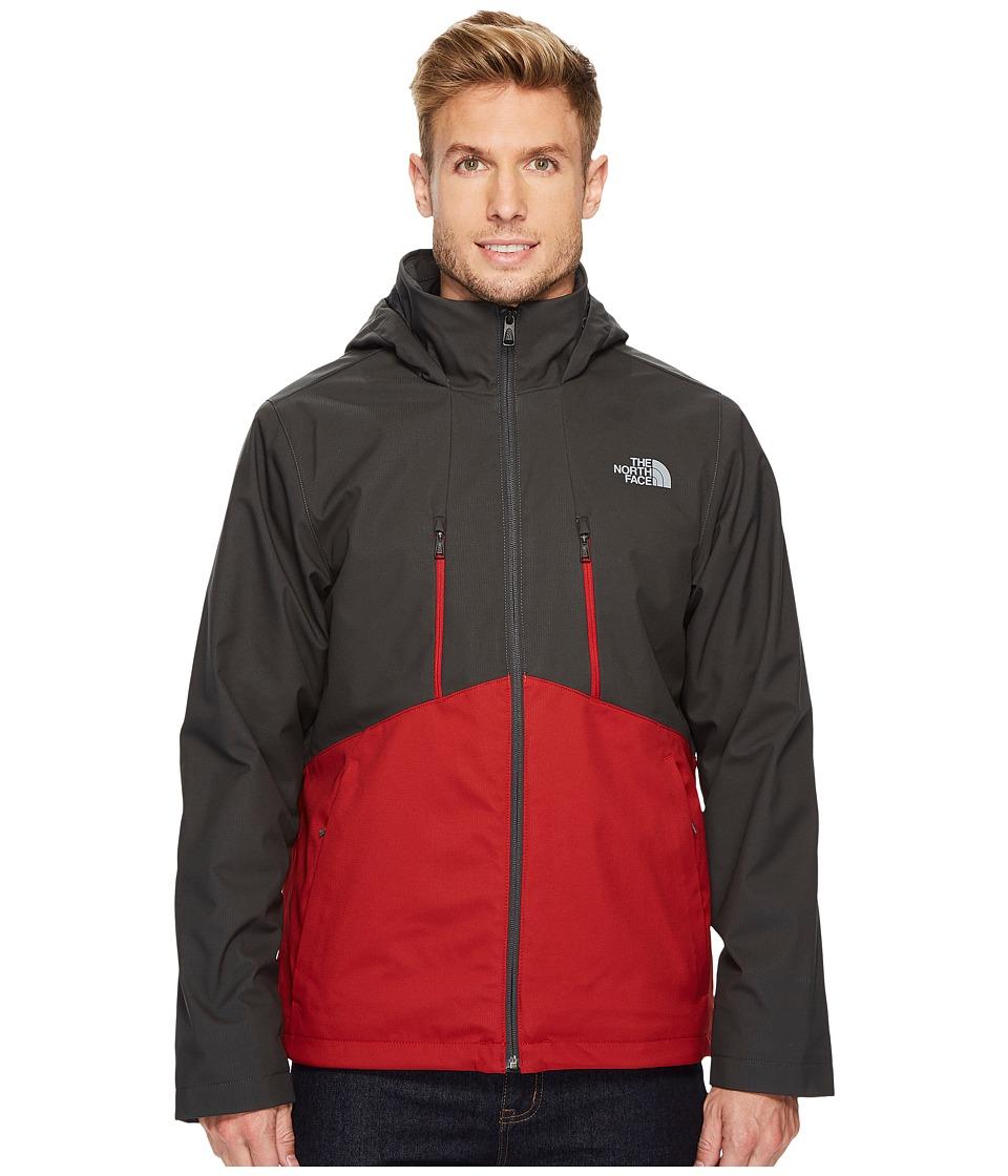 The North Face Apex Elevation Jacket (Asphalt Grey/Cardinal Red) Men