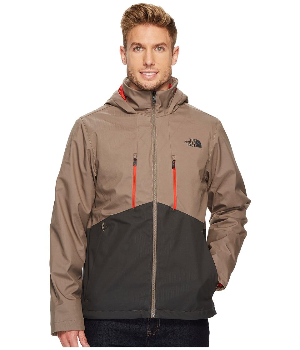 The North Face Apex Elevation Jacket (Falcon Brown/Asphalt Grey) Men
