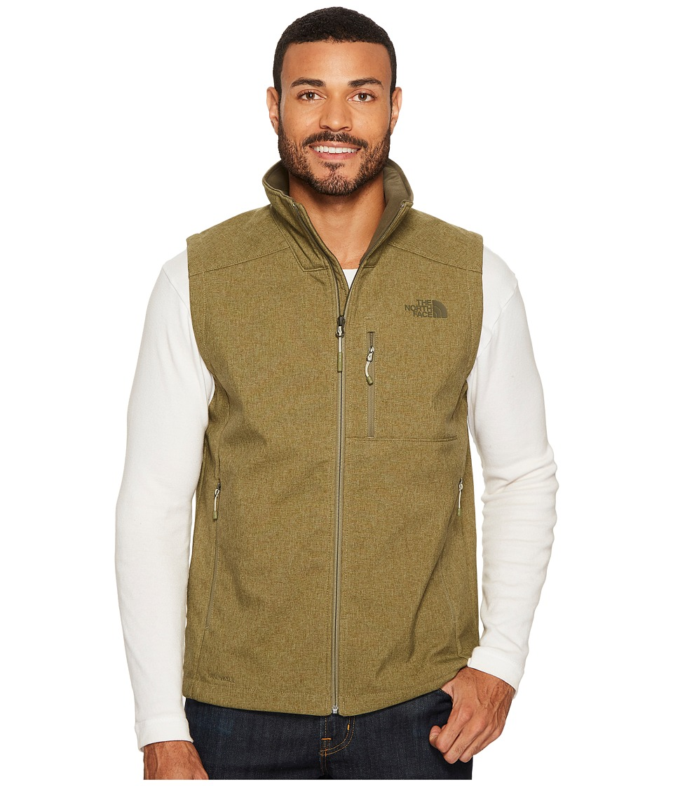 North Face Apex Bionic 2 Vest (Burnt Olive Green Heather)...