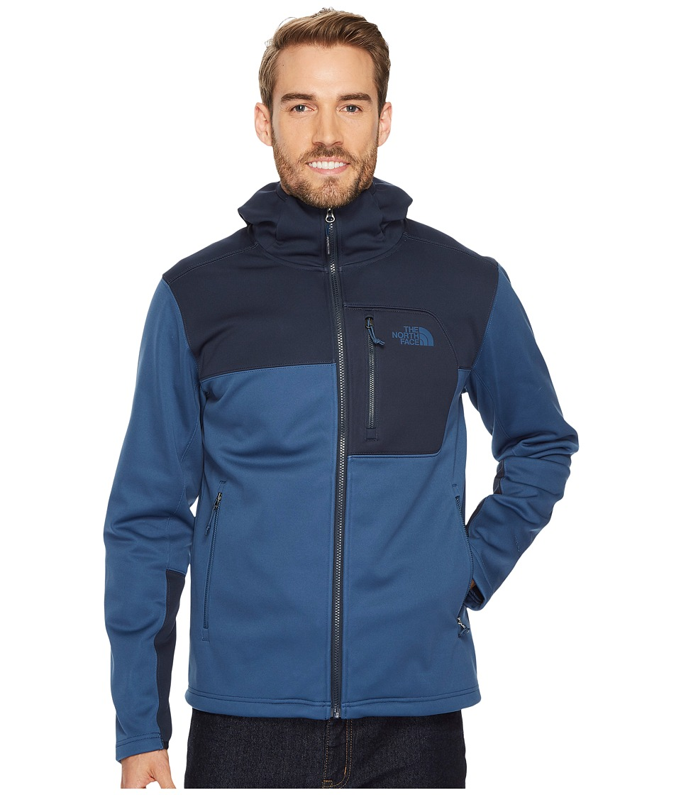 The North Face Apex Risor Hoodie (Shady Blue/Urban Navy) Men
