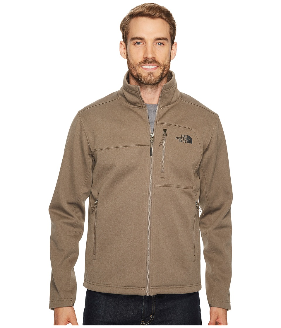 The North Face Apex Risor Jacket (Falcon Brown Heather/Falcon Brown Heather) Men