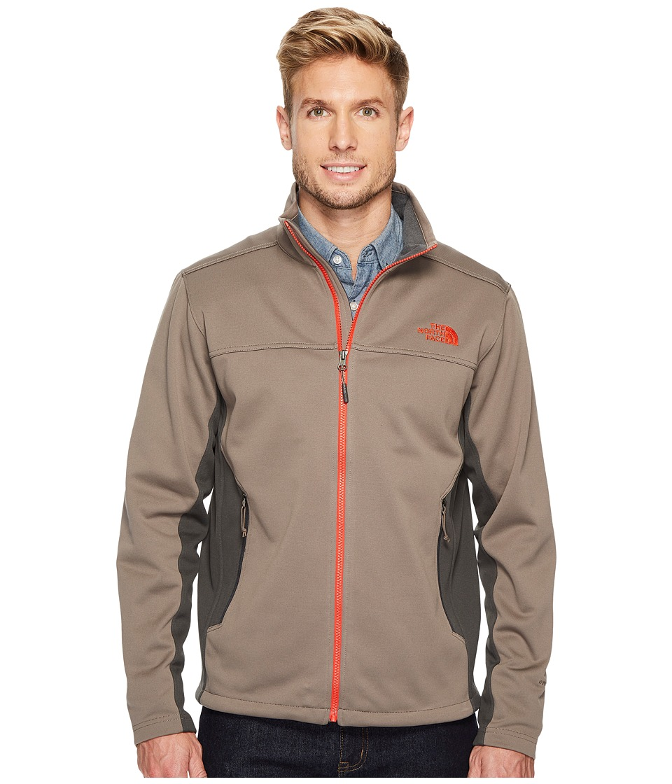 The North Face Apex Canyonwall Jacket (Falcon Brown/Asphalt Grey) Men