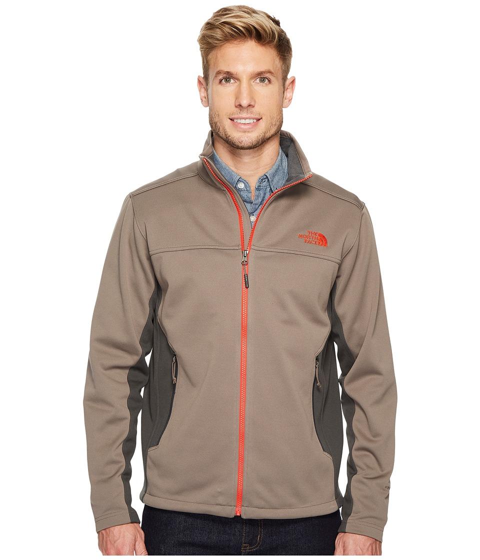 The North Face Apex Canyonwall Jacket (Falcon Brown/Asphalt Grey) Men