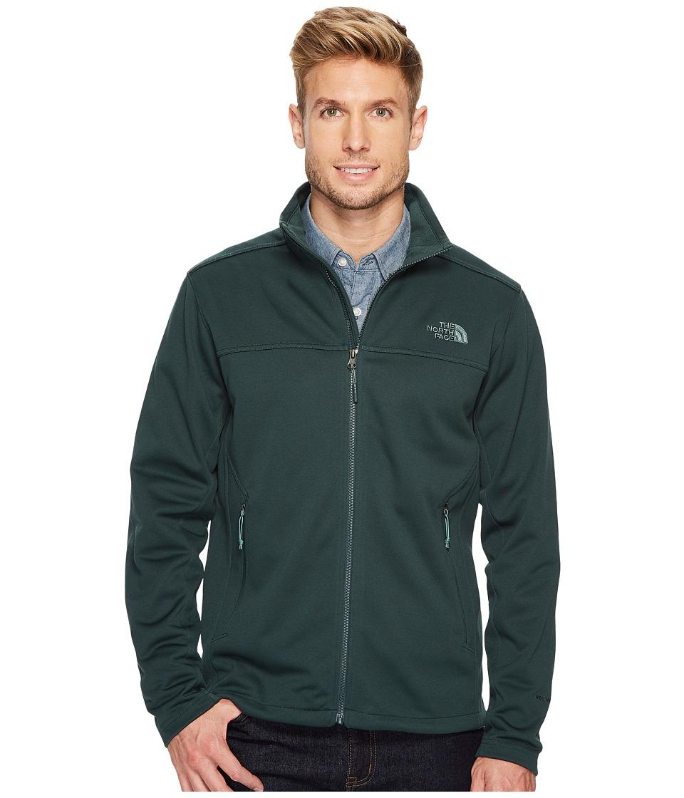 The North Face Apex Canyonwall Jacket (Darkest Spruce/Darkest Spruce) Men