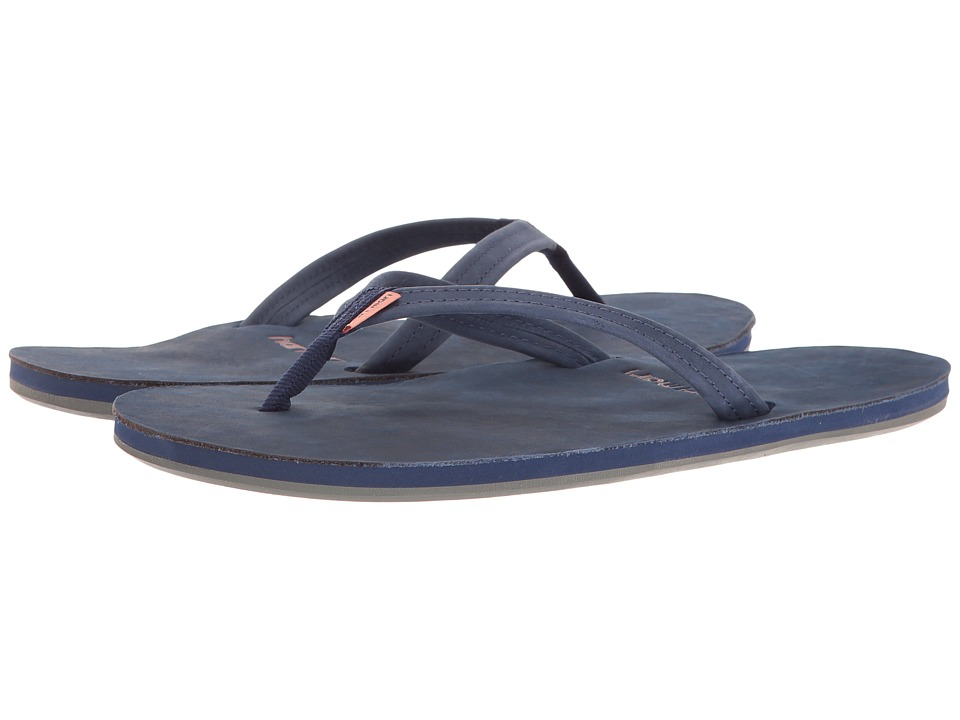 Hari Mari - Fields (Navy/Peach/Gray) Womens Sandals