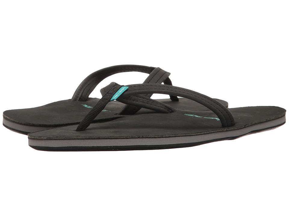 hari mari Fields (Black/Seafoam/Black) Sandals