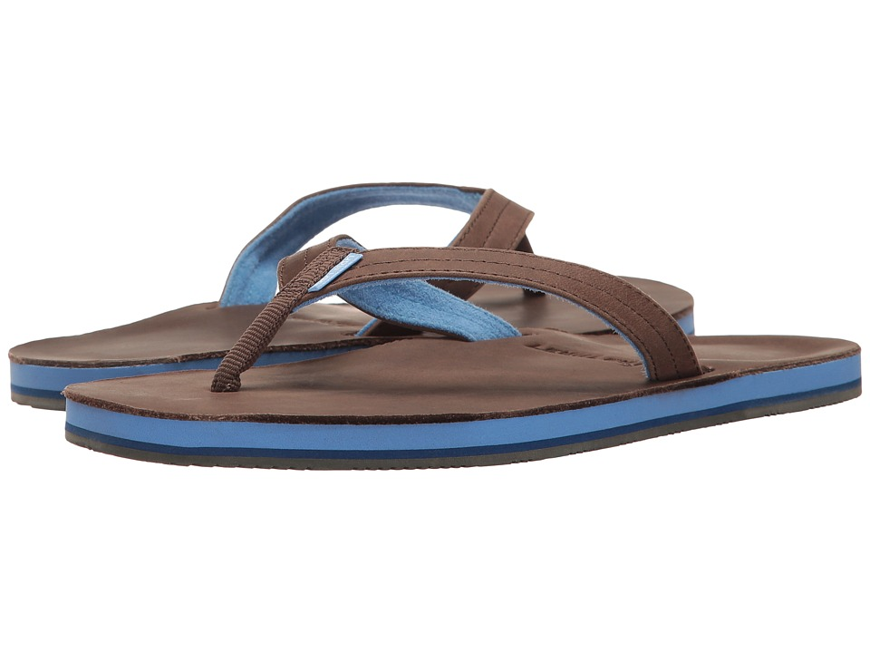 Hari Mari - Lakes (Dark Brown/Light Blue) Womens Sandals