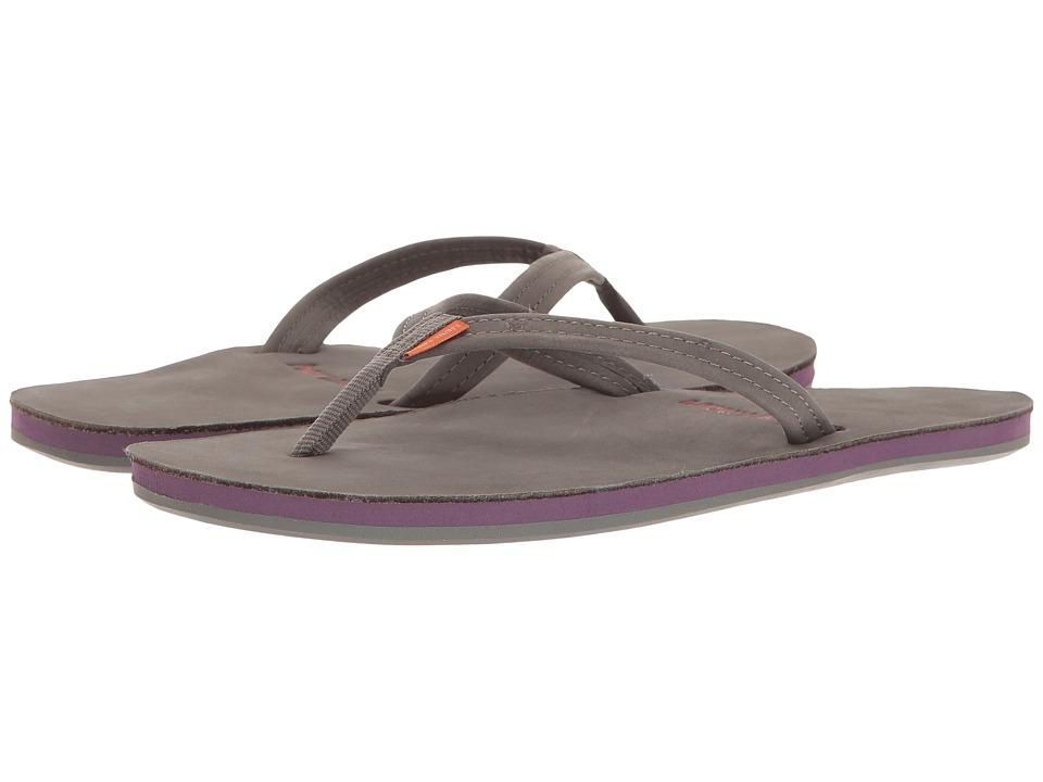 hari mari Fields (Dark Gray/Purple/Rust) Sandals