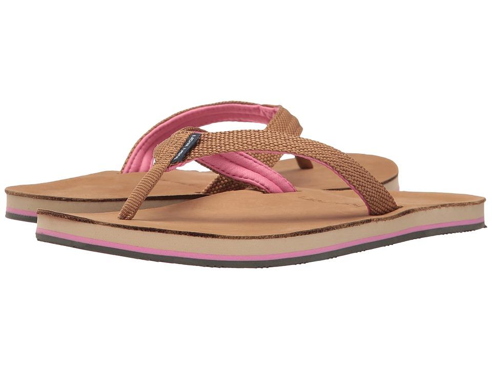 hari mari Scouts (Tan/Shell Pink) Sandals