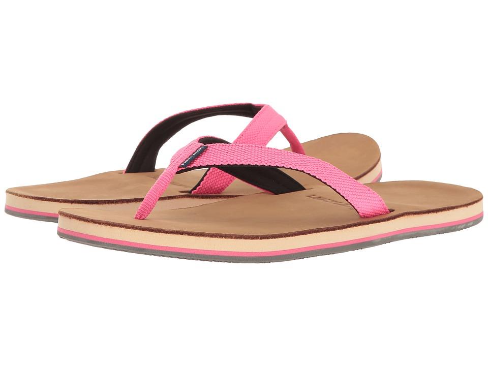 hari mari Scouts (Neon Pink/Black) Sandals