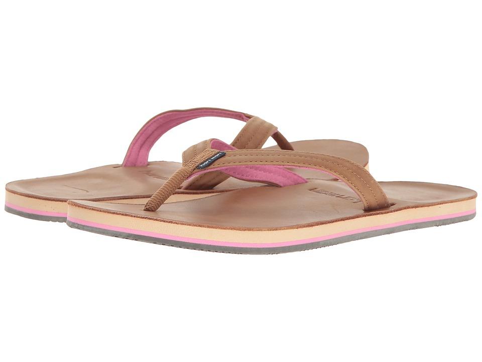 hari mari Lakes (Tan/Pink) Sandals