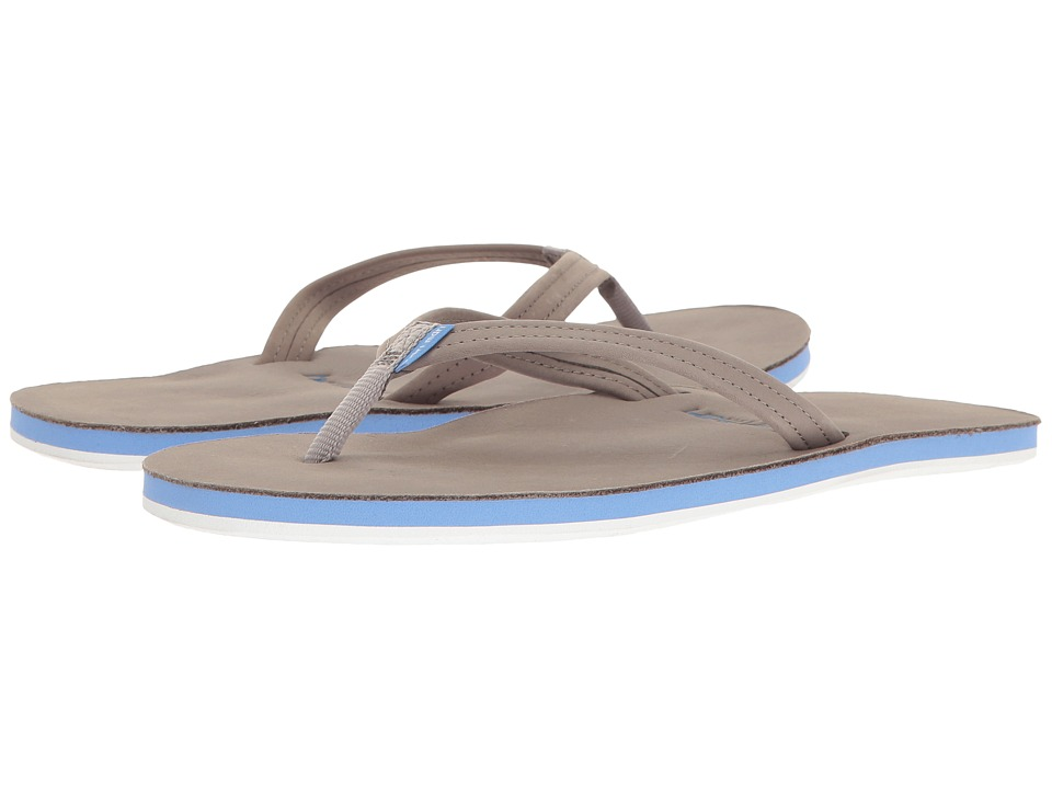 hari mari Fields (Light Gray/Blue/Pink) Sandals
